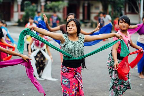 Girl Dancing Legong, Bali Indonesia