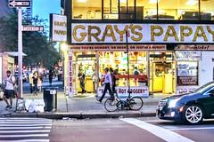 Throw back Thursday New York City summer evenings (dannydalypix) Tags: newyorkcity broadway amsterdamnave grayspapaya nyc