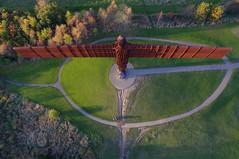 Angel of the North (Kevin John Hughes) Tags: angel north newcastle northeast angelofthenorth statue england gormley phantom phantom3 drone ariel arielphotogrphy quad quadcopter hdr
