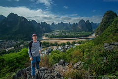 Xing Ping viewpoint - Guangxi Province, China (Thomas J Dawson) Tags: thomasdawsonphotography xingping china liriver
