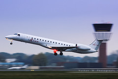 LIL - Embraer 145LR (F-HFKE) FlyKiss (Aro'Passion) Tags: lil lfqq lille lesquin lillelesquin aropassion airport aircraft dcollage departing 60d canon flykiss embraer emb145 145lr fhfke photography photos takeoff tower beacon rotation rotate aroport natw enhance aero group