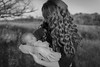 Sleeping Beauty (kwhite1232) Tags: bw blackandwhite motherandchild baby family beautiful newborn