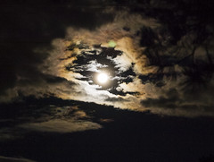 Supermoon above Canberra (theerstwhilekate) Tags: supermoon moon canberra clouds sky