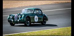 Jaguar XK 140 FHC (1955) (Laurent DUCHENE) Tags: peterauto lemansclassic 2016 bugatti jaguar xk 140 fhc xk140