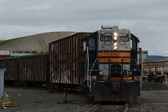 The beautiful PNWR 1801 (Tom Trent) Tags: gp9 emd diesel locomotive switcher yard eugene lanecounty oregon pnwr portlandandwestern blackwidow sp southernpacific oe oregonelectric 1801