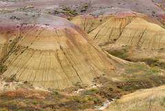 Yellow Hills (DA Edwards) Tags: south dakota badlands national park desert sky earth erosion color da edwards photography fall 2016 hills mountains yellow