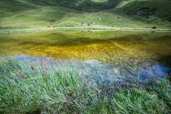 Iman (Massimiliano Teodori) Tags: alpi dolomiti lago iman valgardena italia reflection canon 6d samyang 14 28 samyang14mmf28 sdtirol sudtirolo tirolo