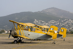 Ag-Cat Greek Air Force (Rob Schleiffert) Tags: grumman agcat tatoi dekelia g164 greekairforce hellenicairforce
