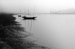 River at winter! (ashik mahmud 1847) Tags: bangladesh d5100 nikkor river water boat line winter foggy