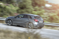 Mercedes-Benz A180d (TRC OFF) Tags: mercedesbenz aclass diesel driving driven trcoff trcoffgr car