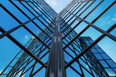 Reflections (Neo7Geo) Tags: glasgow reflections sony sonya7mkii blue sky ricorodriguez neo7geo scotland abstract architecture sunny