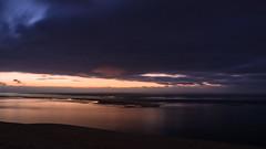 Night of The Supermoon (Simon Buchou) Tags: pyla dyne dune bassin arcachon simon buchou night nightscape sea ocea ocean nuit clouds cloud nuage