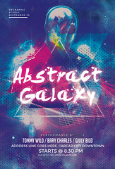 Abstract Galaxy Flyer (DesignerwooArt) Tags: 300dpi 3d abstract advertising alien alternative artwork bass broken city cmyk design dj dope download drum electro event fest festival flyer free future futuristic galaxies galaxy geometry high hiphop house invitation man manipulation minimal minimalist minimalistic modern music party photoshop poster print psd rap rock sky smoke sound sounds space tech techno template trap triangle triangles trippy universe urban dubstep geometrix art hipster robot