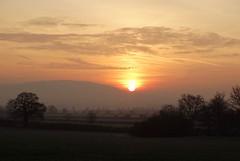 A new dawn! (rockwolf) Tags: sunrise sun frost frozen winter wrekin uptonmagna shropshire rockwolf