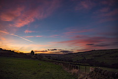 Yorkshire sunset (jackharrybill) Tags: haworth westyorkshire yorkshire sunset evening november