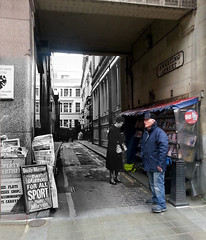 Sweeting Street 1966 in 2016 (Keithjones84) Tags: liverpool oldliverpool merseyside thenandnow history localhistory rephotography