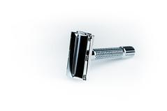 Razor (CarrilloImage) Tags: razor bw product scissors shiny chrome