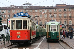 2016-12-04, Torino, Piazza Castello (Fototak) Tags: tram strassenbahn tranvia torino italy atts gtt 116 2952 2759 447