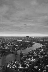 Over the City (The Pinged Hobbit) Tags: sky london thames skyline clouds shard birdseyeview birdseye thepingedhobbit andydavenport