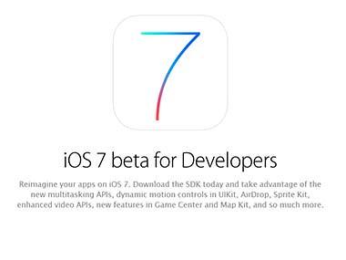Improved Siri, optimised iPad: Apple releases iOS 7 beta 2 - @757LiveTech
