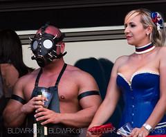 Tortureship 2013 (kaufenstein) Tags: woman man men leather sex tattoo fetish nude deutschland see costume women couple ship mask do