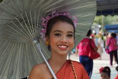Pattaya Candle Festival 2013 (JCSchaper) Tags: travel portrait girl smile face thailand asia sony pattaya nex7 sonynex7