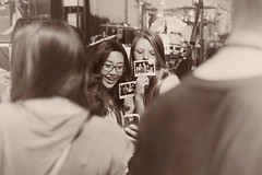Persist (Braeden Petruk) Tags: seattle girls portrait people blackandwhite bw usa alex girl monochrome america polaroid person fan photo washington concert remember unitedstates audience crowd memories gray performance entertainment memory entertainer fans entertaining remembering persistence odc goot persist alexgoot ourdailychallenge