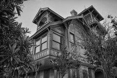Sherman Gilbert House, Heritage Park, San Diego, CA (Photos By Clark) Tags: california unitedstates sandiego cities places location where northamerica postprocess hdr locale canon1740 canon60d 170400mm