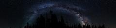 Yosemite Milky Way (Patrick_Phelan) Tags: panorama canon way over meadows tent yosemite milky tuolumne cabins
