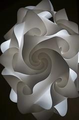 Fractal (meyerweb) Tags: lamp sushi spiral restaurant washingtondc dc washington ceiling hanging fractal
