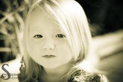 Serious Girl (corinne.schwarz) Tags: portrait blackandwhite nature girl beautiful kids happy intense serious outdoor expression michigan twotone