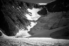 View to the summit (c_c_clason) Tags: leica mountain snow mountains ice sweden glacier summicron m8 40mm kebnekaise summicronc glaciology leicam8 rabots rabotsglacier
