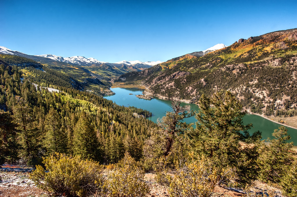 This is Lake San Cristobol, the second largest lake in Colorado and home to the best view in Gunnison County.