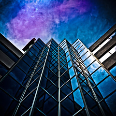 No 2 Overlea Blvd Toronto Canada (thelearningcurvedotca) Tags: street city blue light sky urban toronto ontario canada abstract color reflection building green texture geometric window glass lines metal wall architecture photoshop square outdoors mirror design downtown experimental gallery pattern exterior outdoor metallic background steel perspective canadian structure minimal environment concept curve lightroom iamcanadian bsquare torontoist overlea bej cans2s wwwareamagazinecom yourphototips briancarson blogtophoto thelearningcurvephotography wwwthelearningcurveca