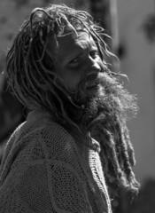 Alternative tourist in Cusco, Peru (Peraion) Tags: peru smile hair beard cusco longhair hippie braids