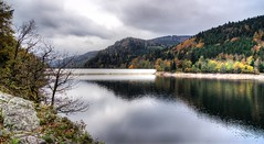 lac du kruth, alsace (vuokkopeter) Tags: lake france nature see frankreich natur luonto järvi ranska abigfave