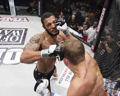 MMA: WCMMA 12 (Mark Watson Photography) Tags: tattoo back fight mixed fighter martial muscle arts bald cage fighting ufc mma
