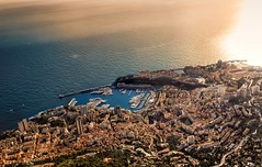 Monaco - Overview (Explore) (Alex Lud) Tags: sky sun france clouds canon riviera south montecarlo monaco paca explore dxo soe aerialphotography mediterraneansea urbanlandscape nationalgeographic lightroom mditerrane frenchriviera alpesmaritimes niksoftware flickraward 1635f28 concordians yourphototips 5dmarkiii mygearandme mygearandmepremium alexlud vision:mountain=0659 vision:sunset=0856 vision:sky=0977 vision:ocean=0646 vision:outdoor=0755 vision:clouds=0868