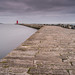 Poolbeg lighthouse, Dublin, Ireland (In explore 17-11-2013)