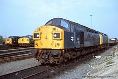 21/07/1980 - York. (53A Models) Tags: york train railway britishrail yk deltic 25158 class40 class25 40138 40126 55008 thegreenhowards d326