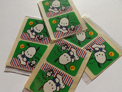 Sanrio stickers (My Sweet 80s) Tags: mirror hellokitty stickers case sheets sanrio 80s 70s bags kiki 1980 stationery 70 1979 lala playingcards 2012 heartshaped anni70 shopper madeinjapan clipboard pochacco mymelody littletwinstars blocknotes heartshapedbox vintagestationery anni80 magneti minibags tuxedosam pattyjimmy lavagnetta blocchetto tinybag littletwinstarsmirror hellokittystickers portadocumenti pattyandjimmy minishopper sanriovintage cinnomaroll lavagnettamagnetica badtzumaru cartoleriavintage badbadtzumaru japaneaseproduction scatolinacuore lalapvc pupazzinolala littletwinstarscase pochaccosanrio magneticclipboard adesivisanrio pupazzinolittletwinstars bambolalittletwinstars