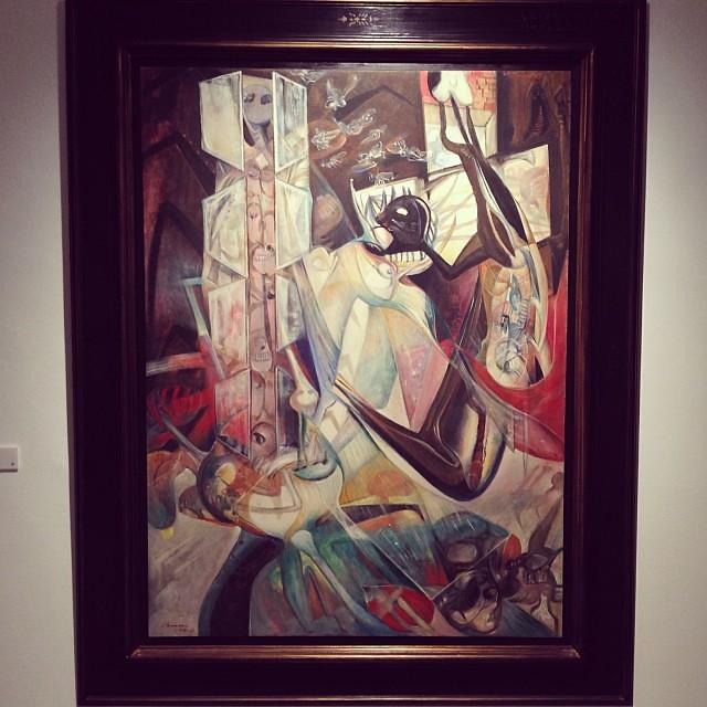 """Sin Título 1969 • """"El Pasado Presente"""" de Gerardo Chávez #art #arte #arteenlima #artinlima #artista #artist"""