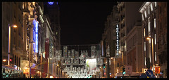GRAN VIA (Juan Pea de la Vega) Tags: madrid noche granvia vision:text=0582 vision:dark=0727 vision:outdoor=0842