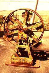 Toy Ferris Wheel - Artists Study Picture - Color Slide (Mike Leavenworth) Tags: color wheel vintage toy slide ferris gs stevecooper kfdf