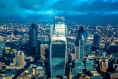 Financial District (www.garymcgovern.net) Tags: uk london st thames pauls millenniumbridge financialdistrict shard riverthames cityoflondon saintpauls the paulscathedral theshard