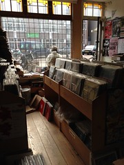 Checking out the vinyl (cr4ig.) Tags: amsterdam jordaan march2014