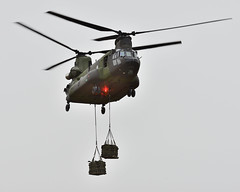 Petawawa Chinook Exercises (RCAF-ARC) Tags: lift testing helicopter petawawa on airframe rappeltower