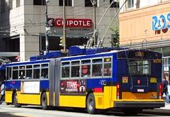King County Metro Breda Trolley 4250 (zargoman) Tags: seattle county travel bus electric king metro trolley transportation transit converted breda articulated kiepe elektrik kingcountymetro highfloor