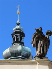 Prague, Czech Republic. May 3,  May 4, 2014 022 (Vadiroma) Tags: city church statue europe cross czech prague capital praha spire dome 2014 esko