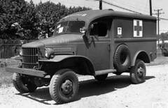 "Dodge WC9 1/2 ton ambulance • <a style=""font-size:0.8em;"" href=""http://www.flickr.com/photos/81723459@N04/14188718841/"" target=""_blank"">View on Flickr</a>"